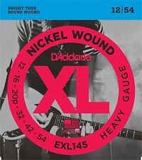 D'Addario EXL145 XL Nickel Wound Heavy (.012-.054) Electric Guitar Strings