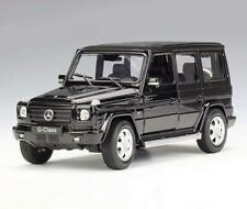 1:24 Welly Mercedes Benz G-Class G55 G500 Diecast Model Car New in Box Black