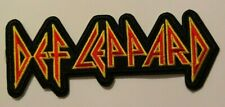 "Def Leppard~Embroidered Patch~5 1/2"" x 2 1/8""~Iron or Sew On~FREE US Mail"