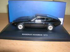 Ixo Maserati Khamsin schwarz black Baujahr 1972  1:43