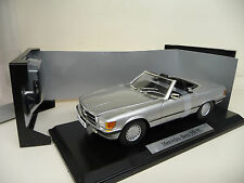 1:18 NOREV Mercedes 350 SL W107 silber silver MERCEDES CLASSIC EDITION NEU NEW