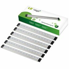LE Under Cabinet LED Lighting, 6 Panel Kit, 24W Total, 12V DC, 1800lm Warm White