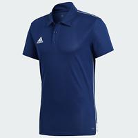 Adidas CORE18 POLO Herren Poloshirt Polohemd T-Shirt Freizeit Fußball NEU OVP