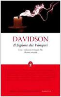 Il signore dei vampiri. Ediz. integrale - Davidson - Libro Nuovo in offerta!