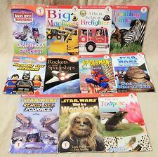 Lot of 11 DK Dorling Kindersley Level 1 Readers Books STAR WARS Angry Birds JOBS
