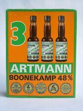 3 MIGNON MIGNONNETTE MINIATURE MINI BOTTLE ARTMANN BONNEKAMP 48% 20ml in box