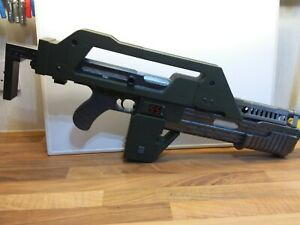 Aliens M41a Pulse Rifle 1/1 scale prop replica 3D Printed Model