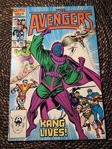 Avengers #267 (1986) 1st app the Council of Kangs MCU Disney+ Unpressed NM