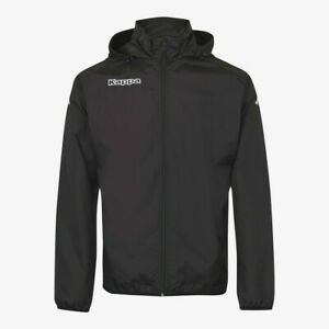 Kappa Marito Waterproof/Windproof Rain Jacket - Black -L