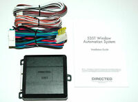 NEW DIRECTED DEI 535T CAR POWER WINDOW AUTOMATION MODULE ROLL UP DOWN 4 ALARM