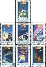 Mongolei 1367-1373 (kompl.Ausg.) gestempelt 1981 Sowjet. - Mongol. Raumflug