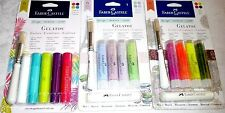 Faber-Castell GELATOS Mix & Match Colors, Dot Dabber & Stipple Brush - 3 Sets