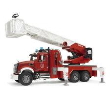 Bruder 1:16 Mack 63cm Granite Fire Engine w/ Slewing Ladder/Water Pump Toy 4yr+