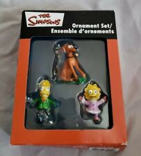 The Simpsons 2006 Heirloom Ornament Set American Greetings Corp.