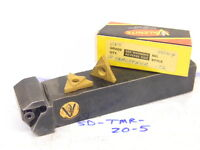 USED VALENITE CARBIDE INSERT TURNING TOOL SD-TMR-20-5 WITH 10PCS. CARBIDE INSERT