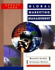 Global Marketing Management Update Kotabe, Masaaki (Mike), Helsen, Kristiaan Ha