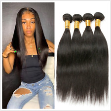 16 inch Straight human hair 4 Bundles/200G Natural color Brazilian Virgin hair