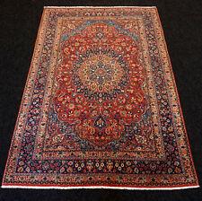 Orient Teppich Kaschmir 184 x 125 cm Kashmir Handgeknüpft Floral Carpet Alfombra