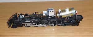 LIONEL STEAM LOCOMOTIVE 2-8-4 DIE-CAST ENGINE GUT FRAME MOTOR O SCALE TRAIN PART