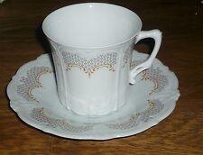1 Kaffeetasse + Untetasse   Tirschenreuth  ALT  BARONESSE  Antoinette