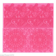 FMM Filigree Lace & Lace Motif Sugarcraft Impression Mats Next Day Despatch