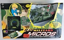 Military R/C Controlled Tank Micro-Size Full Function Vehicle N.I.B.