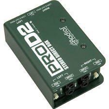 Radial Engineering ProD2 Stereo Passive Direct Box DI New
