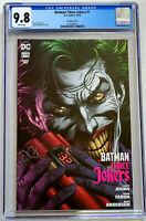Batman Three Jokers #1 Jason Fabok Dynamite Variant DC Comics 2020 CGC 9.8
