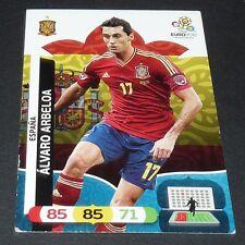 ALVARO ARBELOA ROJA ESPAÑA ESPAGNE FOOTBALL CARD PANINI UEFA EURO 2012
