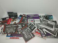 Transformers Instruction Manuals Lot