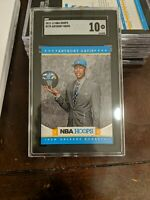 2012 Panini NBA Hoops Anthony Davis #275 Rookie Card RC SGC 10 MINT PSA /BGS 10?