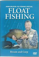 FLOAT FISHING BREAM AND CARP DVD - JOHN WILSON; GO FISHING SPECIAL