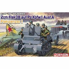 Dragon 6220 2 cm Flak 38 auf Pz. Pour Kpfw I Ausf A Flakpanzer I 1/35 Scale Model Kit
