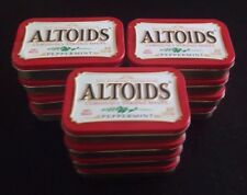 12 Altoid Tins Red Peppermint Empty Clean New Craft Project Kits
