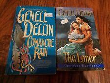 Lot of 2 Genell Dellin paperbacks, The Loner, Comanche Rain