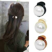 Women Mini Hair Elegant Hair Claw Barrettes Fashion Crystal Hair Clip E7D8