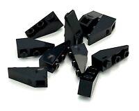 Lego 10 New Black Slopes Inverted 33 3 x 1 Sloped Pieces