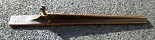 ANTIQUE WILLCOX & GIBBS 1894 SEWING MACHINE BASE CAST IRON DROP LEAF SUPPORT ARM