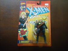 X-Men LONGSHOT Orange Card Marvel Comics Action Figure MOC 1993