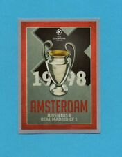 TOPPS-CHAMPIONS 2015-2016-Figurina n.590-FINALE-1998-AMSTERDAM-NEW