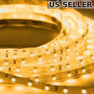 ABI 300 LED Flexible Light Strip, 5M, Amber, SMD 2835, 12V