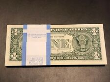 100 PCS BRAND NEW ONE(1) Dollar Bills BEP Pack 2013 Sequential Order~FULL BUNDLE