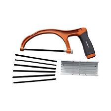 Craftright JUNIOR HACKSAW SET 150mm, Mitre Box Allows 90 & 45 Deg Angled Cutting