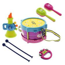 Baby Boy Girl Drum Set Musical Instruments Kids Drum Set Toy Xmas Birthday Gift