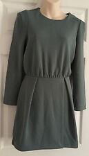 H&M Patternless Long Sleeve Dresses for Women