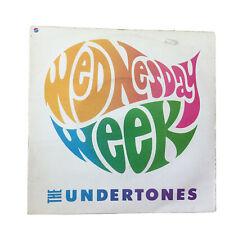 """THE UNDERTONES / WEDNESDAY WEEK 7"""" VINYL SINGLE"""