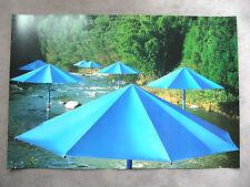 CHRISTO - The Umbrellas - Japan - USA - HANDSIGNIERT