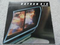 1981 Datsun 510 Sales Brochure