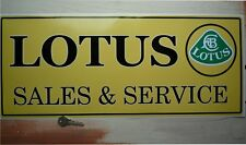 LOTUS SALES & SERVICE self adhesive sticker Elise etc.