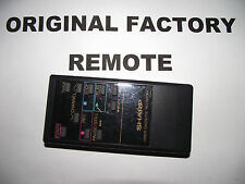 SHARP VCR G0332GE REMOTE CONTROL ++ TESTED ++ FAST SHIPPING + - 20